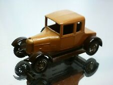 MATCHBOX LESNEY 8 MORRIS COWLEY 1926 - TWO TONE BROWN - VERY GOOD CONDITION