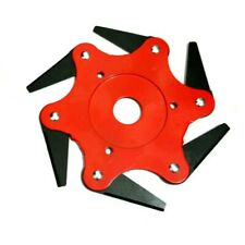 Trimmer Head 6 Teeth Blades 65Mn Lawn Mower Grass Weed Eater Brush Cutter Tool