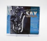 UNFORGETTABLE SAX Rare Time Music International Jazz CD Album - Complete, VGC