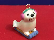 Avon Christmas Ornament Wee Winter Ornament Seal