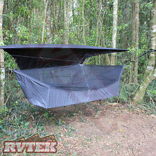 MAVERICK GEAR COMPLETE HAMMOCK SWAG MOSQUITO NET CAMPING BED WITH FLY