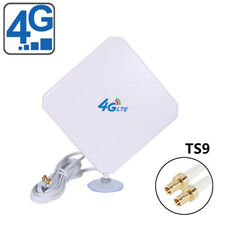 35dBi 4G LTE Dual MIMO Antenna Booster Aerial TS9 Plug Cable For Huawei O9O7