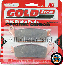 HONDA VT 750 BLACK WIDOW (2003-2004) VT750 > FRONT SINTERED BRAKE PADS *GOLDFREN