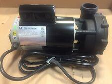 "LX Spa Pump 56-Frame 4HP Dual-Speed 2"" 10' Amp Cord"