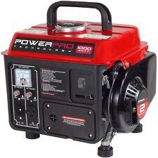 Portable Generator Gasoline Powered 1,000-Watt 2-Stroke Backup Power Supply New