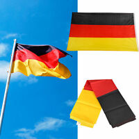 GERMANY GERMAN DEUTSCHLAND NATIONAL 5 x 3FT FANS OLYMPIC GAMES SUPPORTERS FLAG