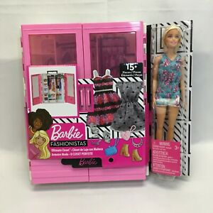 Fãs da Barbie Armário Ultimate Portátil Fashion Brinquedo coleção temática presente De Natal
