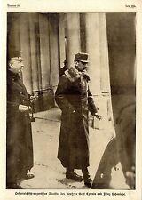 Prinz Hohenlohe & Graf Czernin Historische Aufnahme von 1917