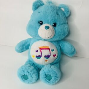 """Care Bear Heartsong Blue Music Note 2017 13"""" Plush"""