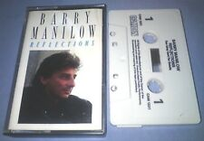 BARRY MANILOW REFLECTIONS cassette tape album T1382