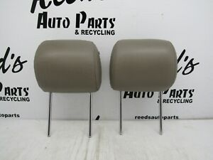 2000-2006 TOYOTA TUNDRA EXTENDED CAB FRONT SEAT HEAD REST TAN LEATHER