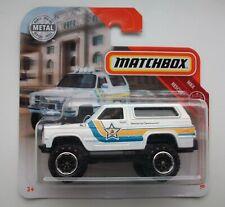 MATCHBOX Modell 0129  Chevy Blazer, neu in OVP