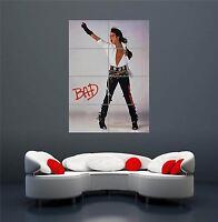 MICHAEL JACKSON BAD ALBUM MUSIC LEGEND JACKO POSTER ART PRINT XXL GIANT WA252