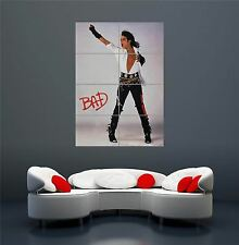 Michael Jackson Bad ALBUM MUSICA Legend Jacko Poster Art Print XXL GIGANTE wa252