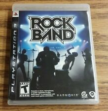 Rock Band (Sony PlayStation 3, 2007) PS3 Complete game Tested VG