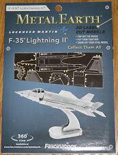 F-35 Lightning II Metal Earth 3D Laser Cut Metal Model Fascinations Airplane