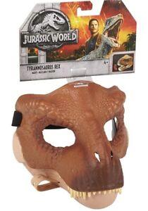 Jurassic World Tyrannosaurus Rex Mask New Packaged Uk Seller 🇬🇧 FLY93