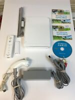 Nintendo Wii System White Console Bundle 90 Day Warranty Plus Wii Sports