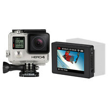 GoPro HERO4 Black Edition Action Camera Camcorder & LCD Touch BacPac