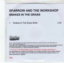 (DK85) Sparrow and the Workshop, Snakes in the Grass - 2011 DJ CD