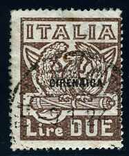 ITALY COLONY CYRENAICA LIBYA SCOTT# 9 FASCISTI USED AS SHOWN