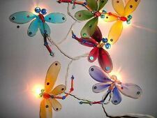 Mains Powered Dragon Fly Dragonfly Fairy Lights Strings Kids Room or Nursery