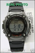 Casio Solar Watch W-s200h-1a World Time 5 Alarms 2 Timers WR 100m Express Post