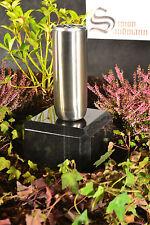 Grabvase aus Edelstahl   Grabschmuck   Grablape   Grablicht   Vase -->NEU<--