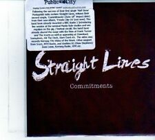 (DU443) Straight Lines, Commitments - 2012 DJ CD