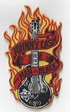 JOHNNY CASH [THE MAN IN BLACK]  IRON ON PATCH  buy 2 get another of these  free