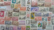 500 Different Andorra (French) Stamp Collection