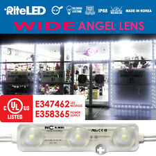 WIDE LED 25ft STORE WINDOW FRAME 5050 LED MODULE LIGHTS WHITE with Moulding