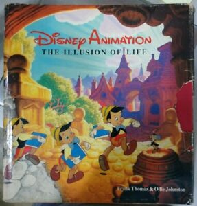 Disney Animation: The Illusion of LIfe - Thomas and Johnston - First Edition...