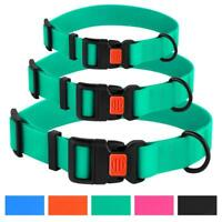 Dog Collar Waterproof Pet Collars for Small Medium Large Dogs Colorful Outdoor