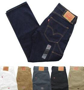 Las Mejores Ofertas En Blanco Levi S Levi S 505 Jeans Para Hombres Ebay