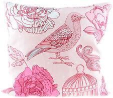 Vintage Rosen ROSE Birdcage Pillow KISSENBEZUG