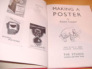 Making A Poster By Austin Cooper - How To Do It Series No.19 - 1945 Revised
