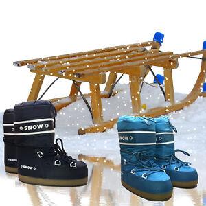 Kinder Winter-Stiefel Navy Türkis Snow-Boots Eskimo-Stiefel verschiedene Größen