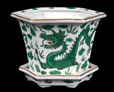 China 20. Jh.  Blumentopf - A Chinese 'Green Dragon' Jardiniere - Chinois Cinese