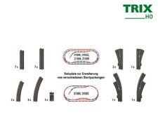 Trix 62977 binario fine con Prell cavalletto con vite 80,5 mm Lang NUOVO IN SCATOLA ORIGINALE