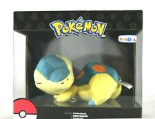 Pokemon Sleeping Cyndaquil Plush Toys R Us Exclusive By TOMY New in box.