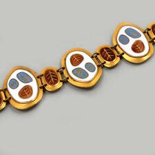 DESIGN EMAIL ARMBAND Enamel Bracelet BUNGE SCHIBENSKY STIL Email Armband