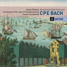 Anner Bylsma/Orchestra Of The - CPE Bach: Symphonies; Cello Concertos  (NEW 2CD)
