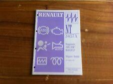 MANUEL DE REPARATION RENAULT NT 3457A DIAGNOSTIC ABS / ESP BOSCH 5.7
