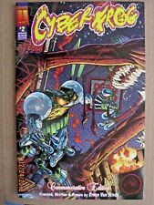 1997 HARRIS COMICS CYBERFROG #2 COMMEMORATIVE EDITION STORY/ART ETHAN VAN SCIVER