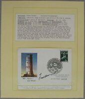 s1144) Raumfahrt Space Österreich 1. Jahrestag Apollo 8 - Autograph Frank Borman