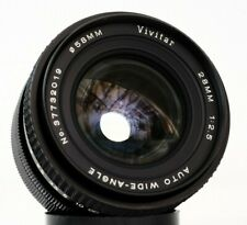 VIVITAR AUTO WIDE ANGLE 28mm f2,5 - TX to M42 mount lens made in Japan
