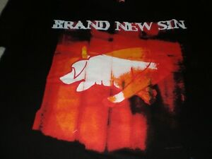 NWT Brand New Sin Black T-shirt Large
