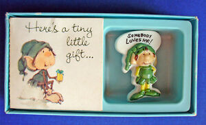 American Greetings PIN St Patrick Vintage LEPRECHAUN HIMSELF ELF Holiday MIB