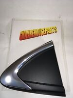 2016-2018 CRUZE BLACK AND CHROME TRIANGLE MOLDING BEHIND REAR DOOR    84085222